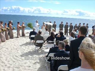 Cape Cod wedding DJ Disc Jockey Services. Click here to see other ceremonies!